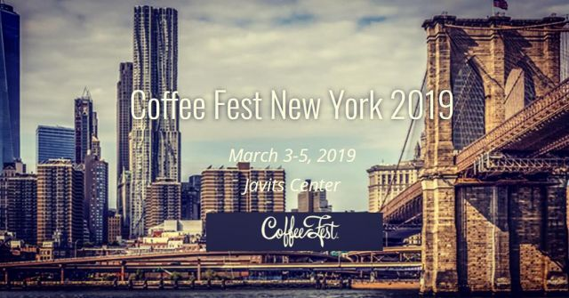 ZERO JAPAN is exhibiting at Coffee Fest New York 2019.