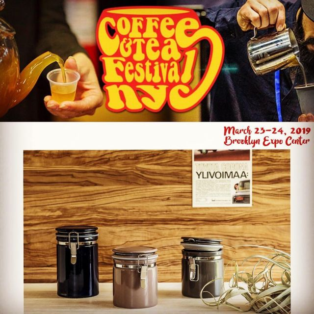 ZERO JAPAN will be at Coffee & Tea Festival NYC this weekend. See you soon!  #coffeeandteafestivalnyc #zerojapan #ceramiccanister  #zerojapanteapot #madeinjapan #originaldesign